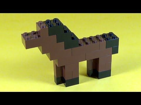 How To Build Lego HORSE - 6177 LEGO® Basic Bricks Deluxe Projects for Kids…