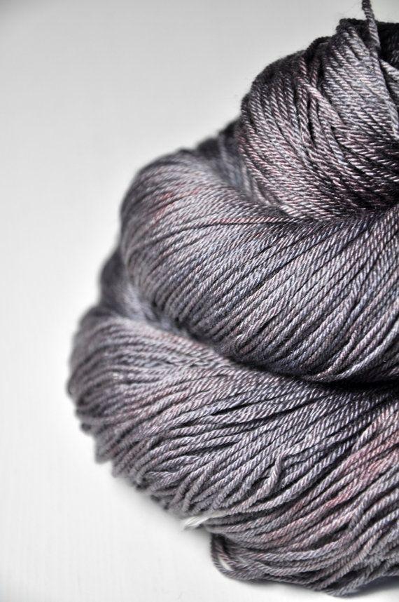 Vicious habits OOAK Merino/Silk Fingering Yarn by Dyeforwool