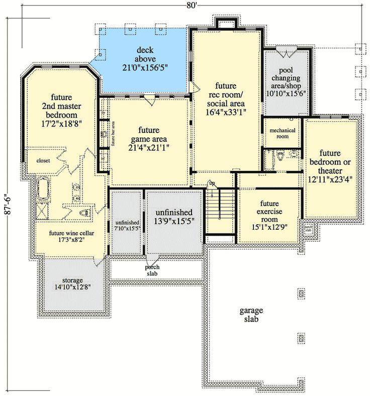 592 best House plans images on Pinterest | Master suite ...