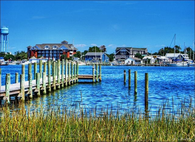 Silver Lake at Ocracoke Island