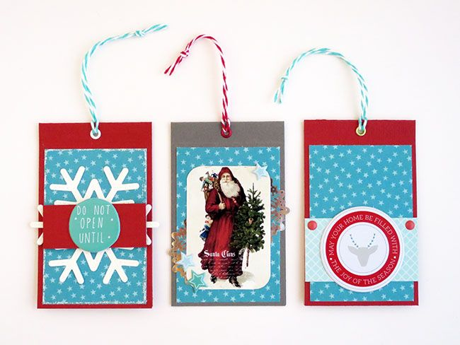 anma.no - 12 Days of Xmas - Double tags created by Dt Silje
