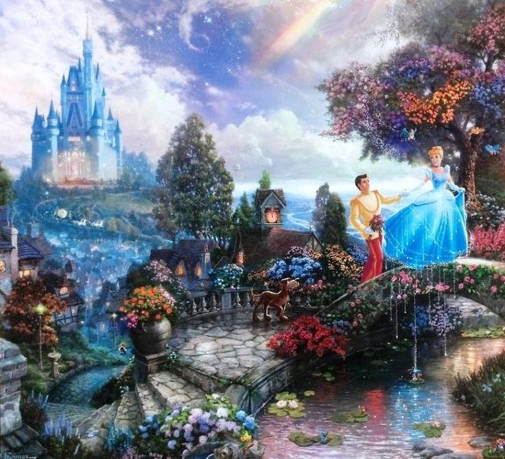 Thomas Kinkade - Disney - Cinderella