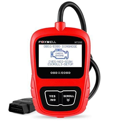 Oferta: 35.99€ Dto: -40%. Comprar Ofertas de OBD2 Coche Diagnóstico Herramienta OBD II/EOBD Escáner Lector de Códigos de Error(Foxwell NT200) barato. ¡Mira las ofertas!