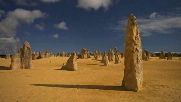 Le désert des Pinnacles (Australie)