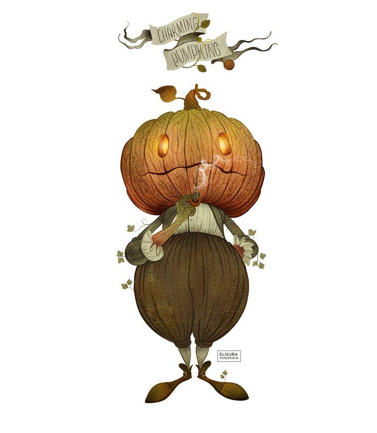 Charming pumpkin