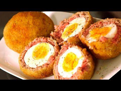 Receta huevos escoceses o huevos a la escocesa recetas - Youtube videos de cocina ...
