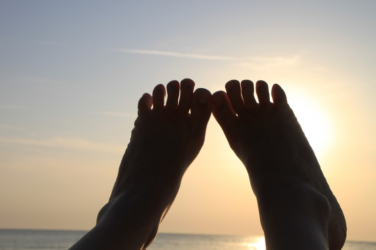 Barefoot Sole of Foot Woman, Beach Sunrise - Public Domain Photos, Free Images for Commercial Use