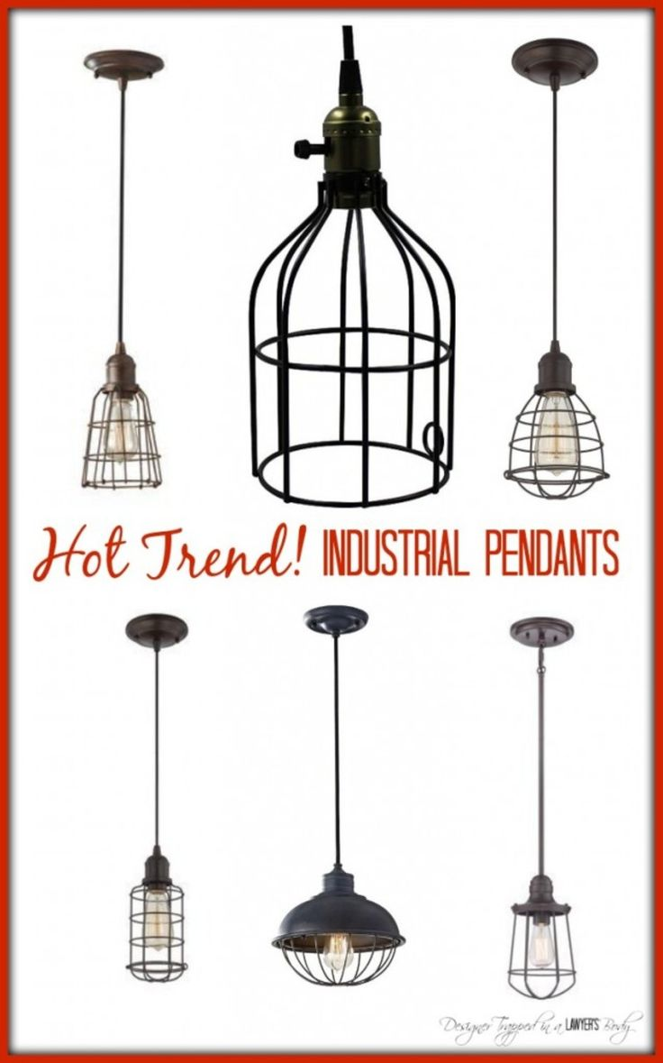 AWESOME round-up of sources for industrial pendant lights--a hot trend right now!  #industriallights http://designertrapped.com/2014/07/industrial-pendant-lighting.html