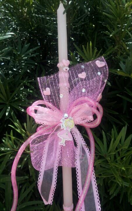 Princess candle $25
