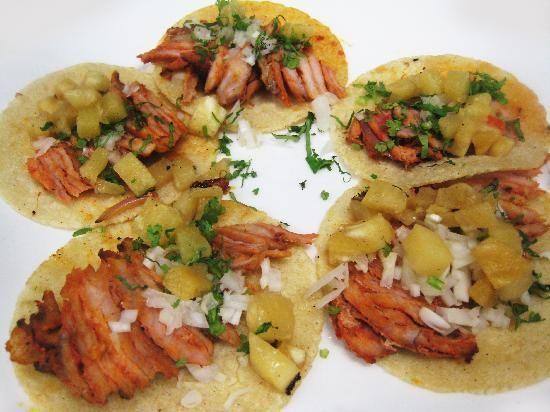Tacos al Pastor - Mexican Food (Comida Mexicana)