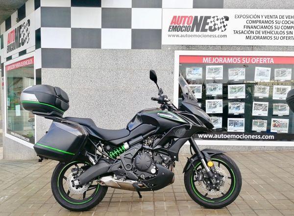 Canariasenmoto.com - Moto Ocasión - Kawasaki Versys 650 abs full con 3000 Km. a 7500 Euros - Segunda Mano