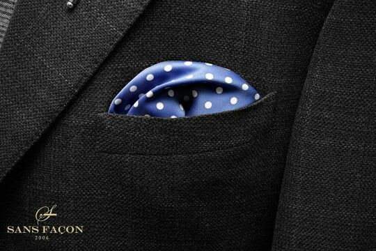 2016 Sans Façon Pocket Square Collection  Available at www.sansfacon.ca