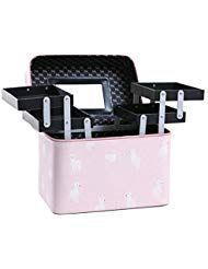 FRTU #Travel #Cosmetic #Bag #Four #Open #Large –