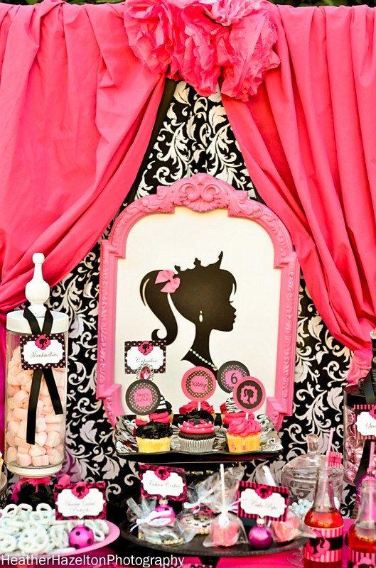 33 best Vintage Barbie party ideas images on Pinterest Barbie