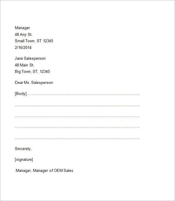 Fresh Commintment Letter Sample For You Business Letter Format