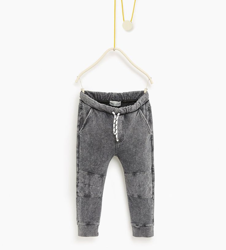 Seamed trousers-TROUSERS-Boy-Kids | 4-14 years-KIDS | ZARA United States