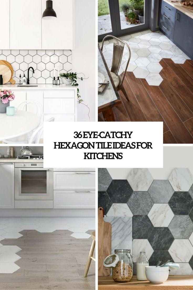 Eye Catchy Hexagon Tile Ideas For Kitchens Cover Motherofpearlbacksplash Herringbone Backsplash Easy Backsplash Backsplash Ideas for covering kitchen tiles