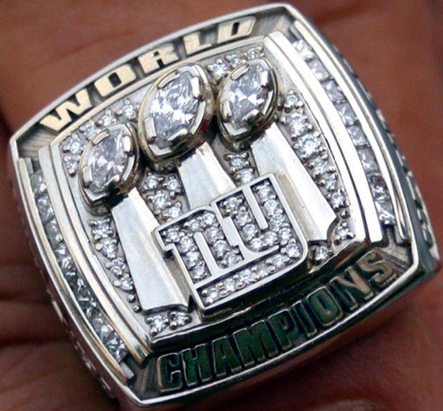 New York Giants - Super Bowl XLII Champions (2007)