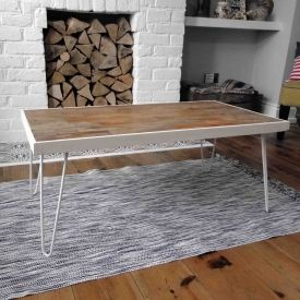 Pimp up your living room with a DIY Reclaimed Floorboard Coffee Table