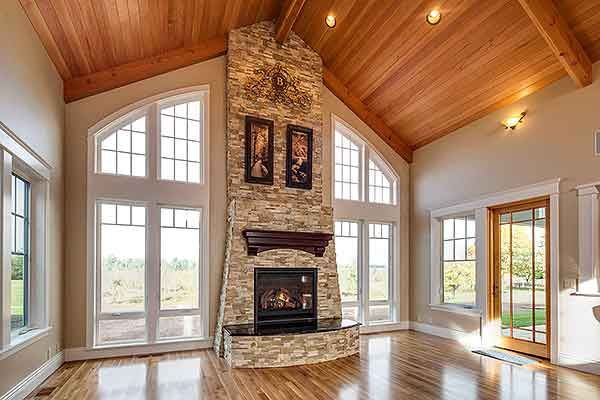 """Rugged House Plan 72754DA  Vaulted """"Great Room"""", aptly named.  3 beds 3 full and 2 half baths 4,500+ sq. ft."""