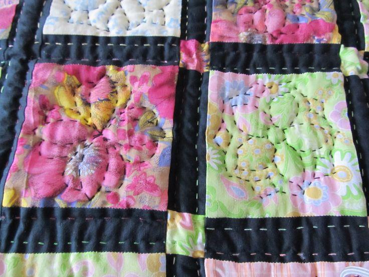 druhý detail deky ze zbytků