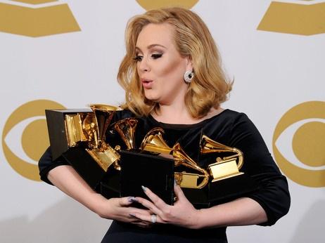 Adele Wins! Great photo!