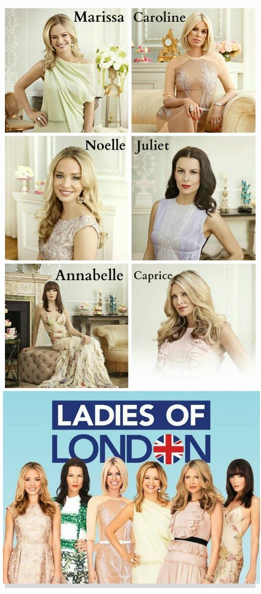 ladies of london - fave new show!