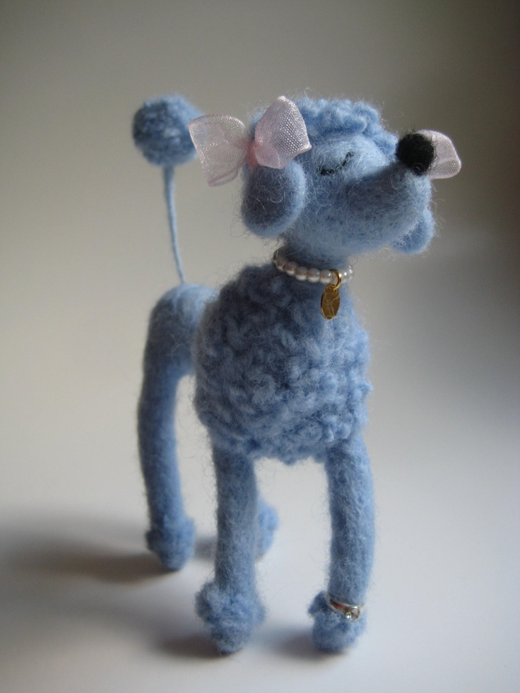 Snooty PoodleWool Felt, Felt Felt, Crafts Needle Felt, Felt Sculpture, Needle Felt Snooty, Felt Snooty Poodles, Felt Creations, Felt Animal