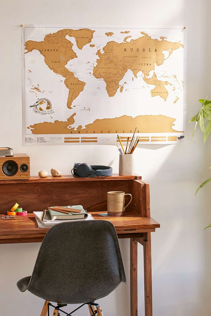 Urban Outfitters//World Scratch Map - No Frame
