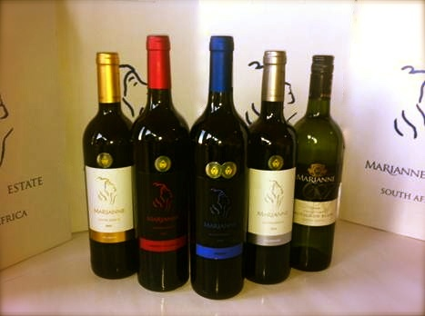 Wine.  Veritas 2012 Winners.  Marianne Estate.  1 Double Gold, 3 Golds and 1 Bronze.  Not too shabby !