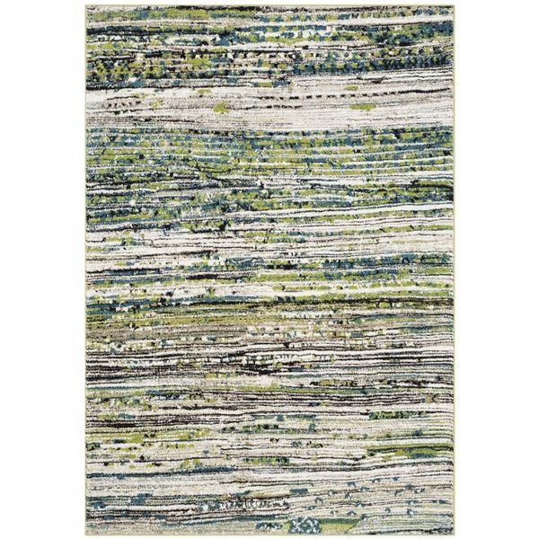 Safavieh Porcello Cream/ Green Rug (8' x 10')