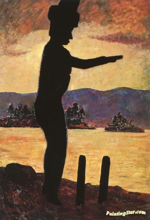 The Welcome Man Artwork by Emily Carr Hand-painted and Art Prints on canvas for sale,you can custom the size and frame