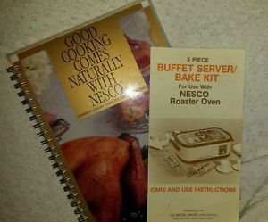 An older nesco roaster oven cookbook in it's entirety in pdf format.  Some really good recipes in here for roasting and baking!