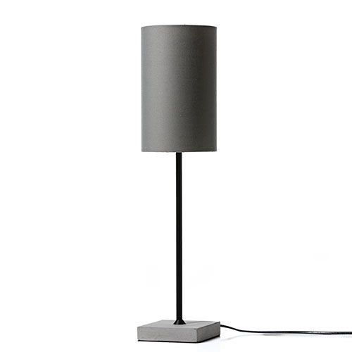Duchess Table Lamp Concrete Grey