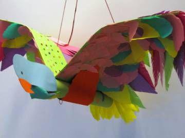 Vreemde vogels - Handvaardigheid groep 8