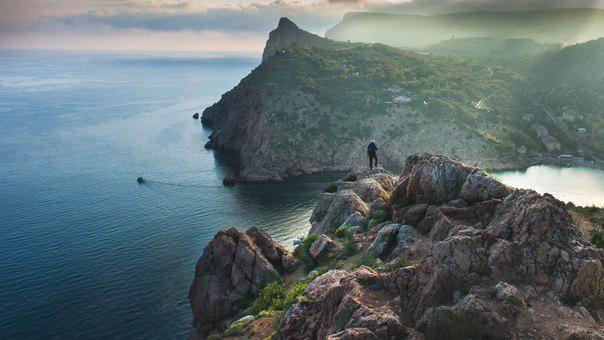 Море, горы... Крым.