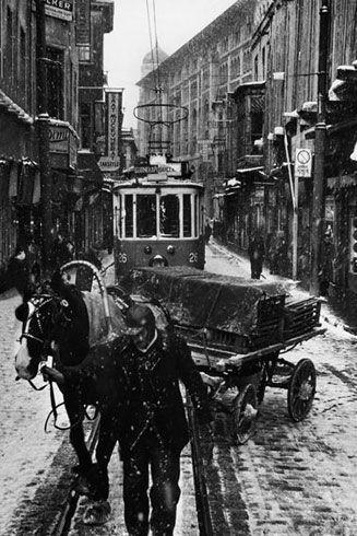 Beyoglu, Istanbul by Ara Guler