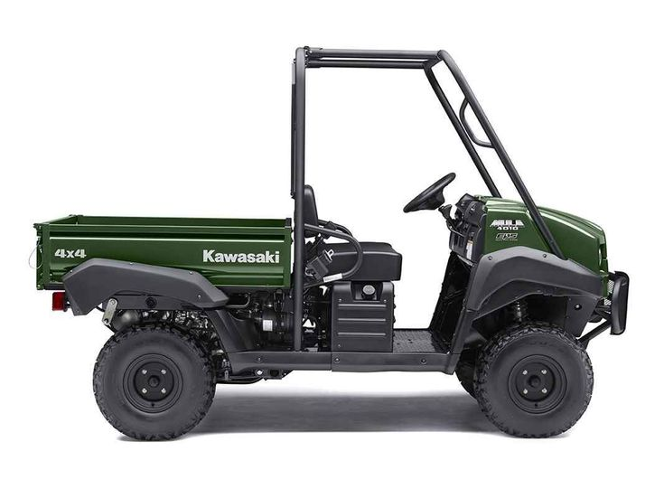 New 2017 Kawasaki Mule™ 4010 4x4 ATVs For Sale in Iowa. The Mule™ 4010 4x4 Side x Side is a powerful mid-size two-passenger workhorse that's capable of both putting in a hard day of work as well as touring around the property. 617 cc fuel-injected, V-twin engine produces reliable performance Selectable 2WD or 4WD with dual-mode rear differential Continuously Variable Transmission (CVT) with Hi / Lo ranges, neutral and reverse Up to 1,200 lbs. towing capacity and 800 lbs. cargo