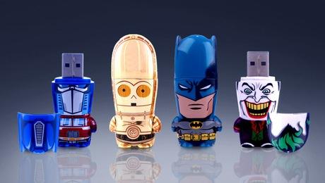 usb Optimus Prime, C3PO, Batman y el Jocker