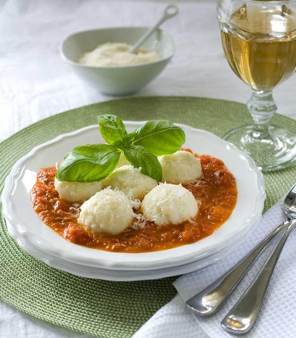 Ravioli Nudi (naked ravioli or ricotta gnocchi) look amazing. Gluten ...