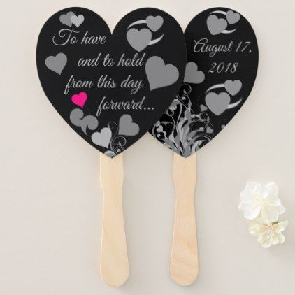 #Wedding Hand Fan - #wedding gifts #marriage love couples