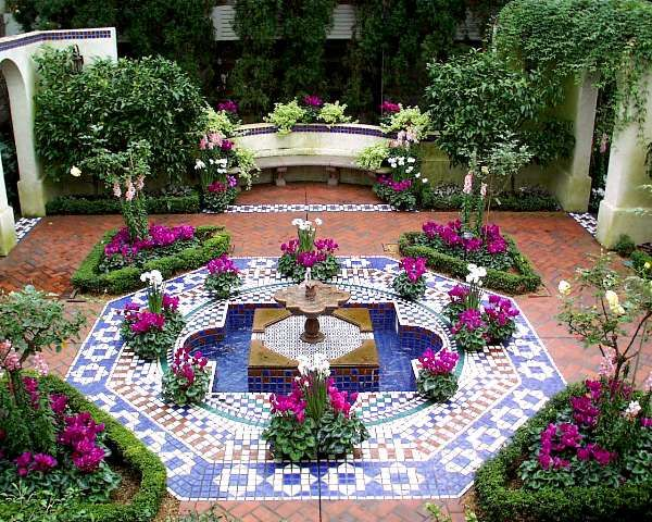 25 best ideas about moroccan garden on pinterest for Jardines espectaculares