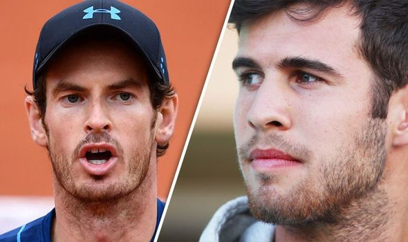 Andy Murray v Karen Khachanov LIVE: Latest updates from French Open 2017 clash