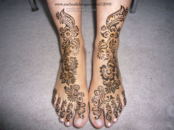 50 Beautiful and Easy Henna Mehndi Designs for every occasion | Read full article: http://webneel.com/mehndi-designs | more http://webneel.com/drawings | Follow us www.pinterest.com/webneel