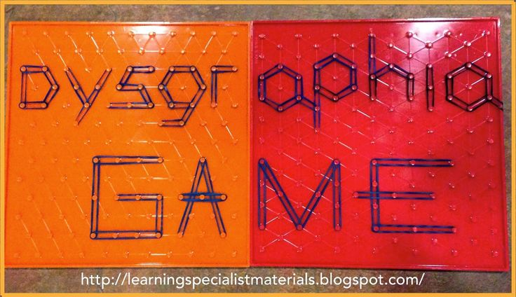 Using A Geoboard To Help Students With Dysgraphia Colors