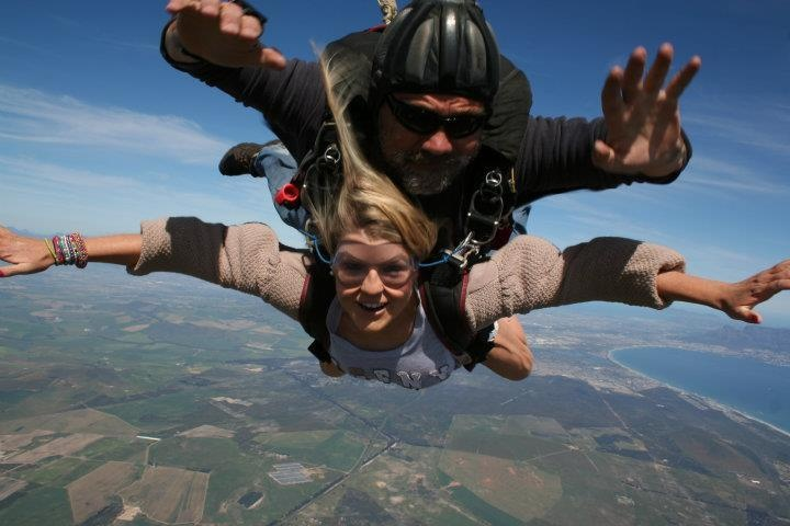 Skydiving in Cape Town, South Africa