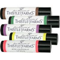 Thistle Farms Moisturizing Lip Balm bridesmaid gift animal rescue site cat dog charity