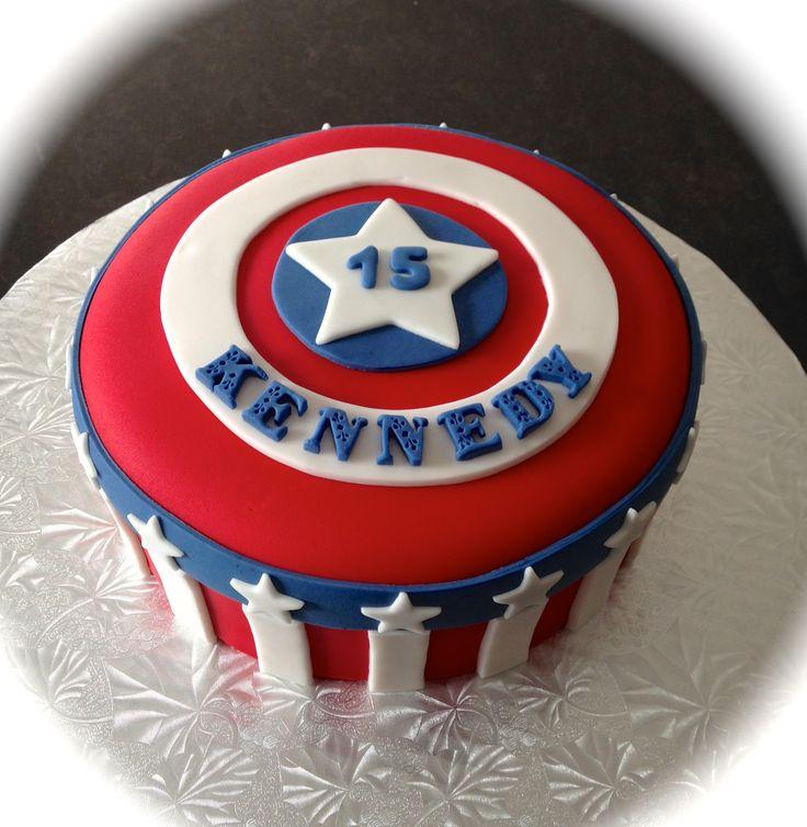 Best 25 Captain america cake ideas ideas on Pinterest Cake