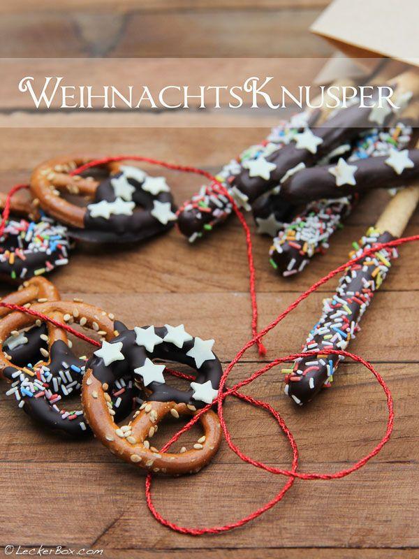 Schnelle Laugen-Knusperbrezeln und -Stangen mit Schokolade / Quick and easy chocolate covered pretzels #laugenbrezeln #schokolade #pretzels #chocolate