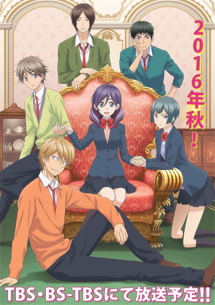 Anunciados los artistas de temas del Anime Watashi ga Motete Dousunda al aire en Octubre.
